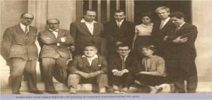 Sıddık Sami Onar başkanlığındaki ilk Anayasa ön tasarısını hazırlayanlardan bir grup