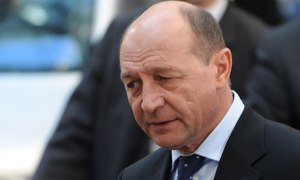 Romanya Cumhurbaşkanı Traian Basescu