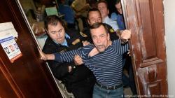 For Human Rights'ın Moskova'daki ofisi boşaltılırken Ponomaryov'un direnişi